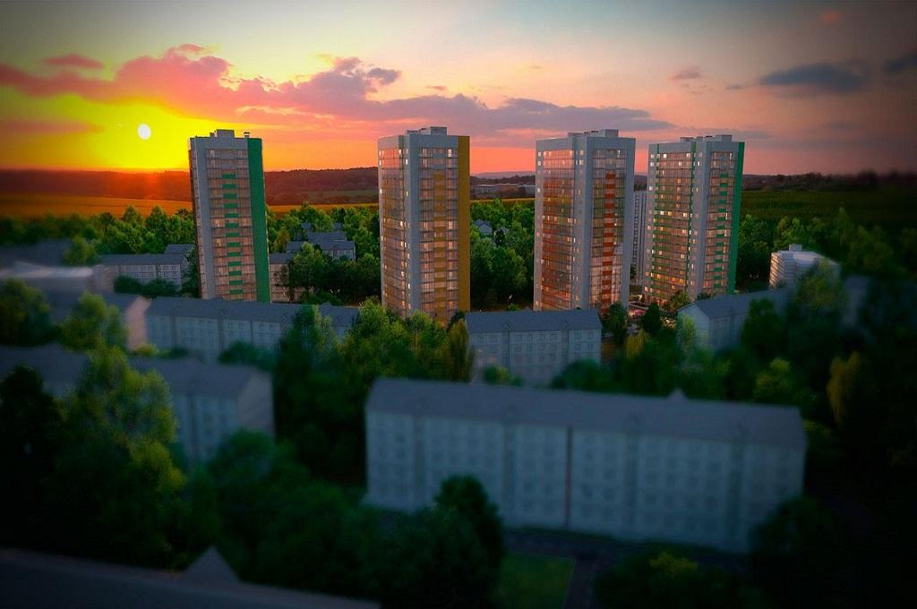 Green City, дом №1