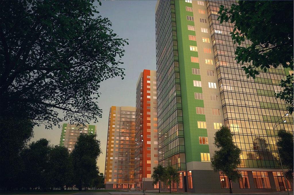 Green City, дом №3